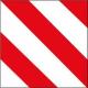 Placa V-20 Homologada (metalica)