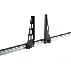 4 topes laterales Cruz plegables 25 cm para Cruz Alu Cargo
